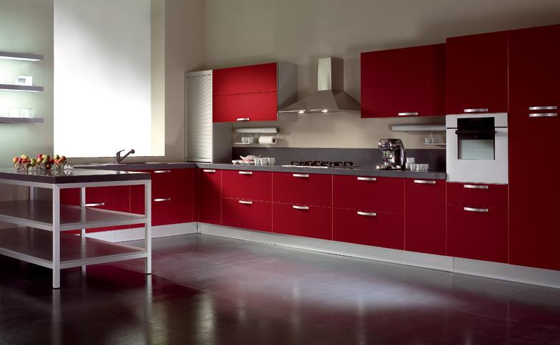 Cucine Moderne Bianche E Rosse. Cucine. Elegant Emejing Cucine ...