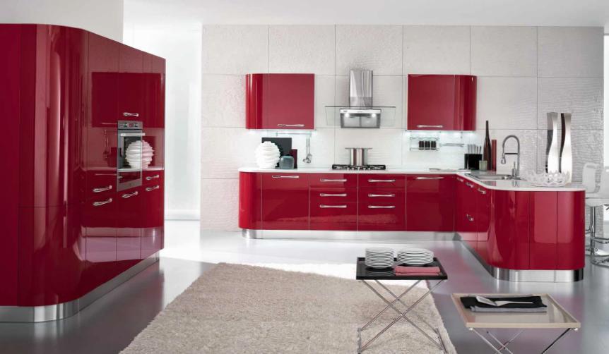 Awesome Cucina Rossa E Bianca Photos - Home Ideas - tyger.us
