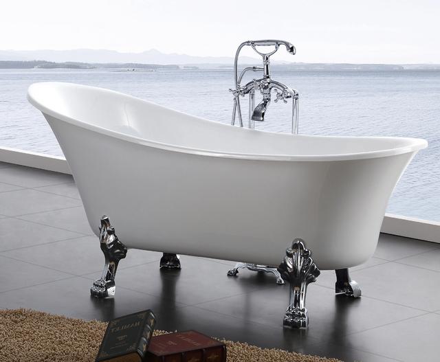 Vasca Da Bagno Con Zampe Di Leone : Il bagno u the capitol hill