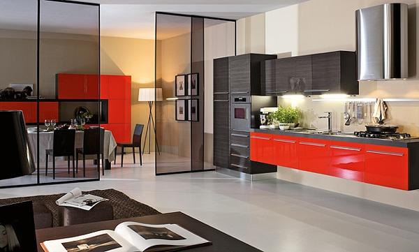 Beautiful Cucine Moderne Rosse Ideas - Design & Ideas 2017 - candp.us