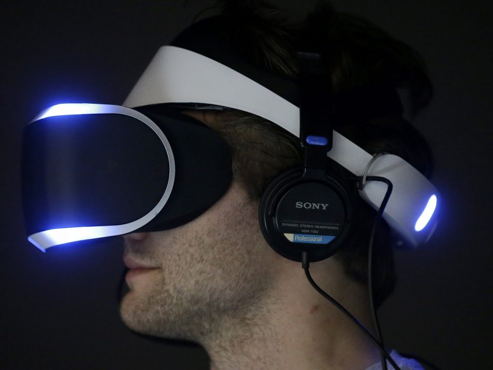 Sony VR, virtual reality, PS4, play station 4